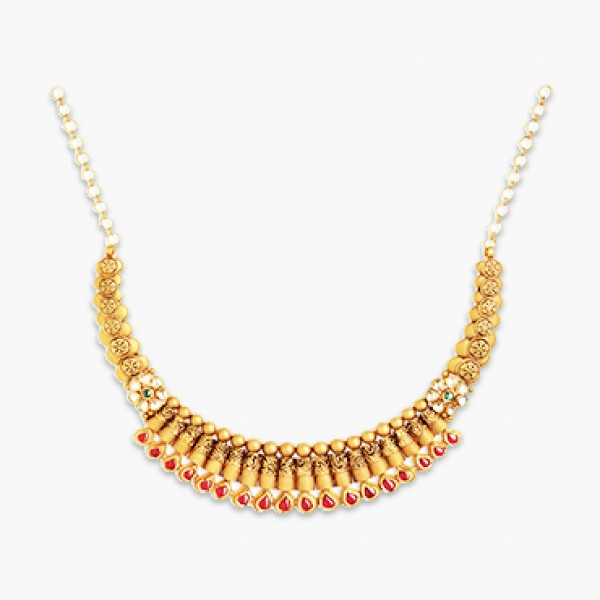 Antique Moon Necklace
