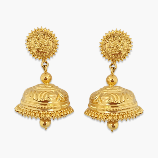 Authentic Gold Earring